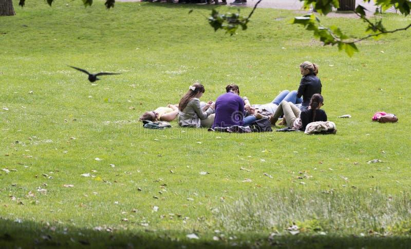 St James Park, London lizenzfreie stockfotografie