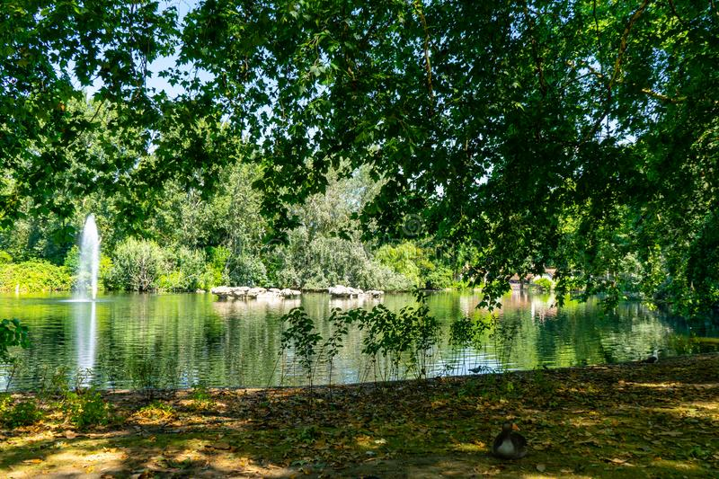 St James Park in London, UK.  royalty free stock photo