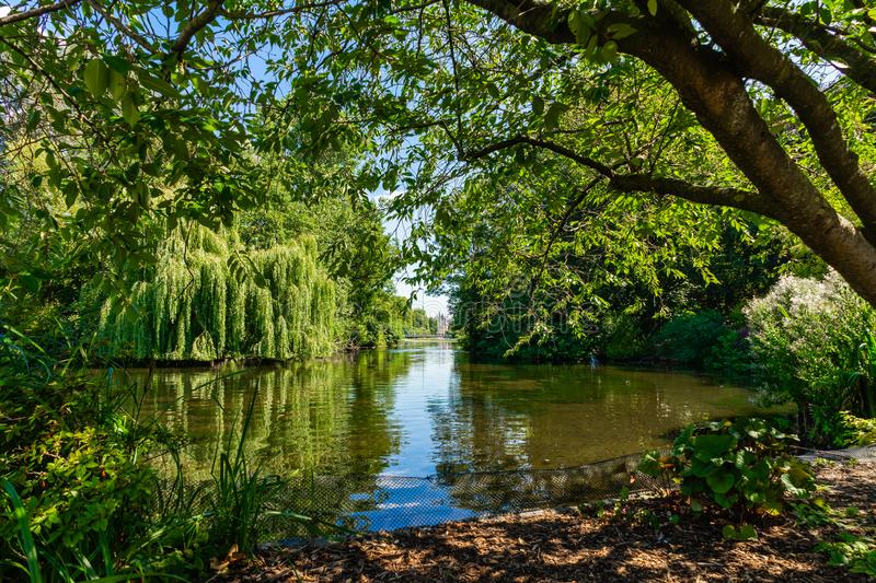 St James Park in London, UK.  stock images