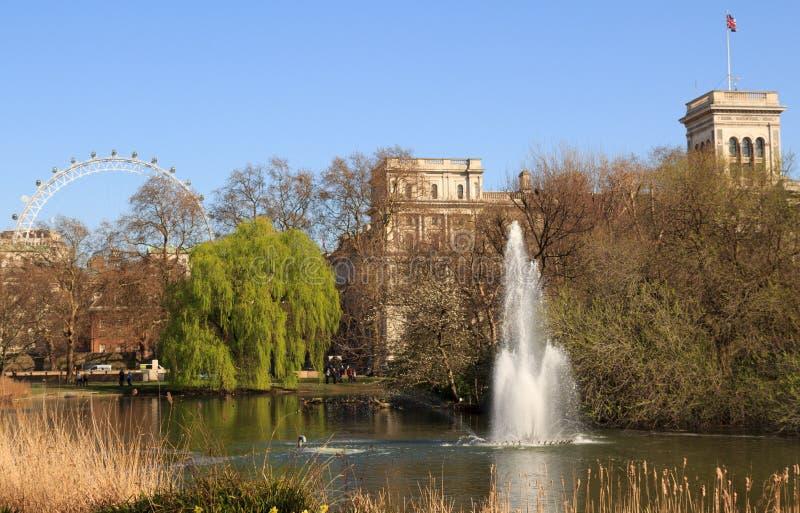 St James Park, Londres, Reino Unido fotografía de archivo libre de regalías