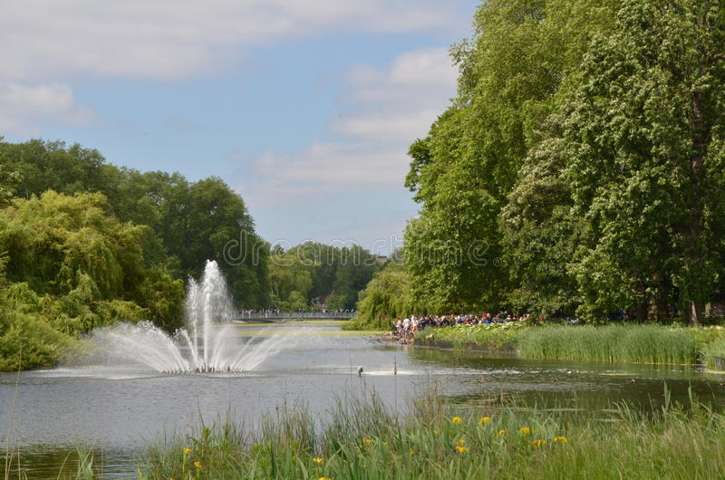 St. James Park. This is a picture taken at St. James Park, London royalty free stock images