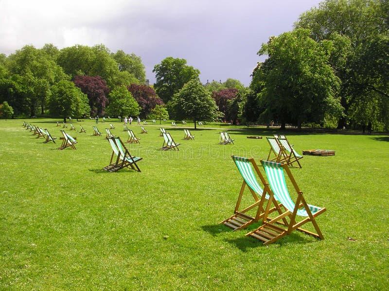St James Park - Summer Time stock image