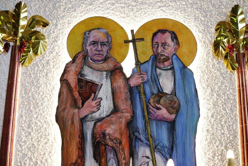 St James und St Philip stockfotos
