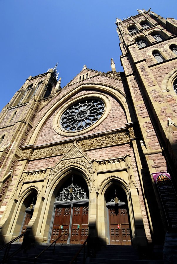 Download St James United Church stock photo. Image of attraction - 2587800