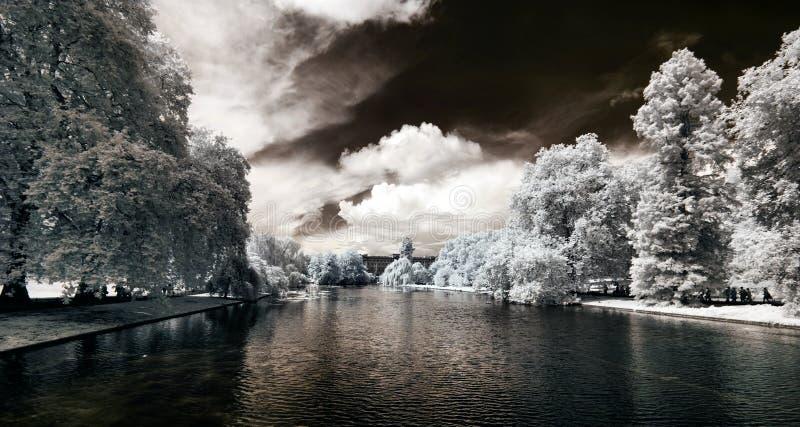 St- Jamespark in London, Großbritannien stockbild