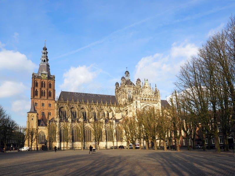 St janeiro da igreja Católica no antro Bosch fotos de stock royalty free