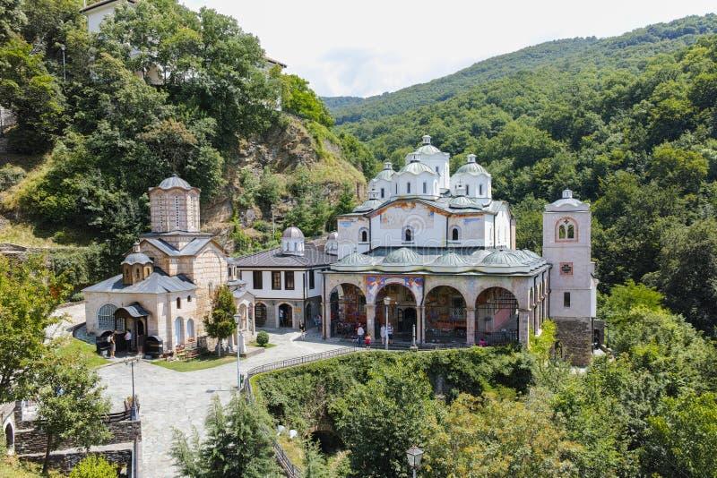 St Joachim del monastero di Osogovo di Osogovo immagini stock libere da diritti
