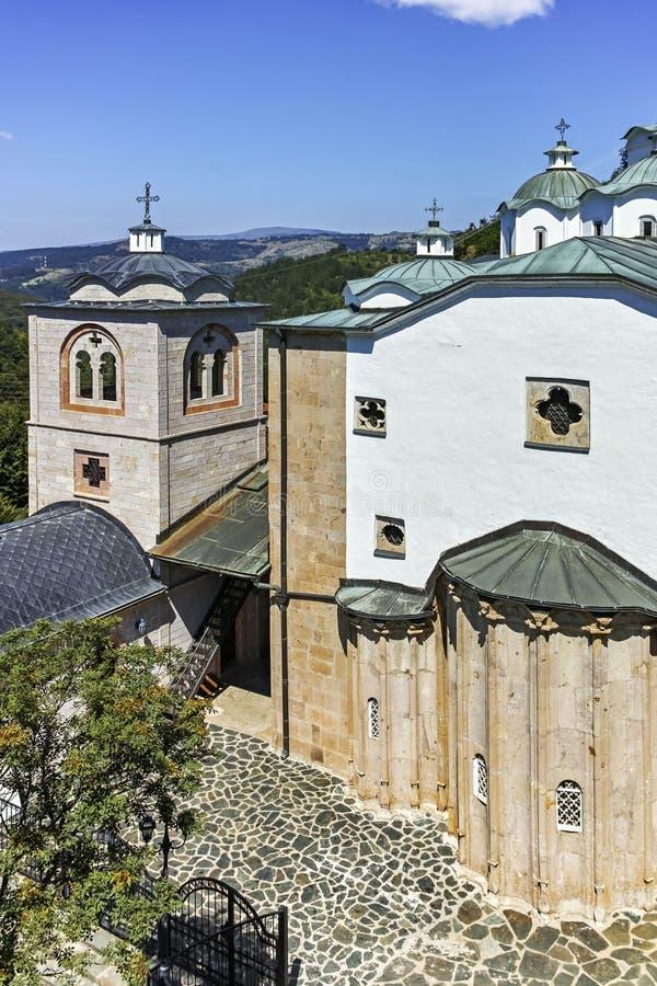 St Joachim di Osogovo, Repubblica del monastero della Macedonia del nord immagine stock libera da diritti