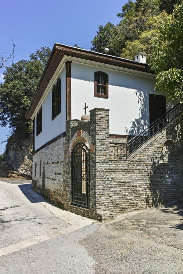 St Joachim di Osogovo, Repubblica del monastero della Macedonia del nord fotografia stock libera da diritti