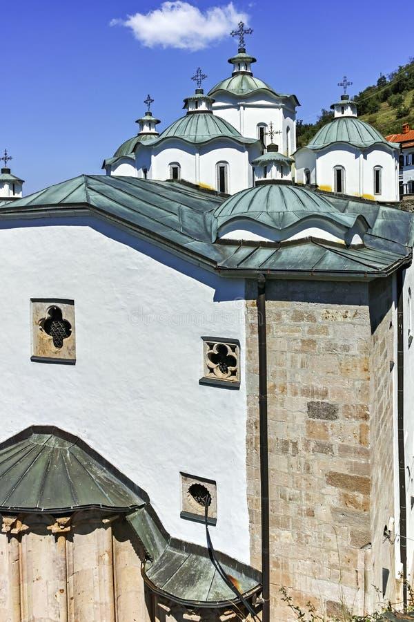 St Joachim di Osogovo, Repubblica del monastero della Macedonia del nord immagini stock