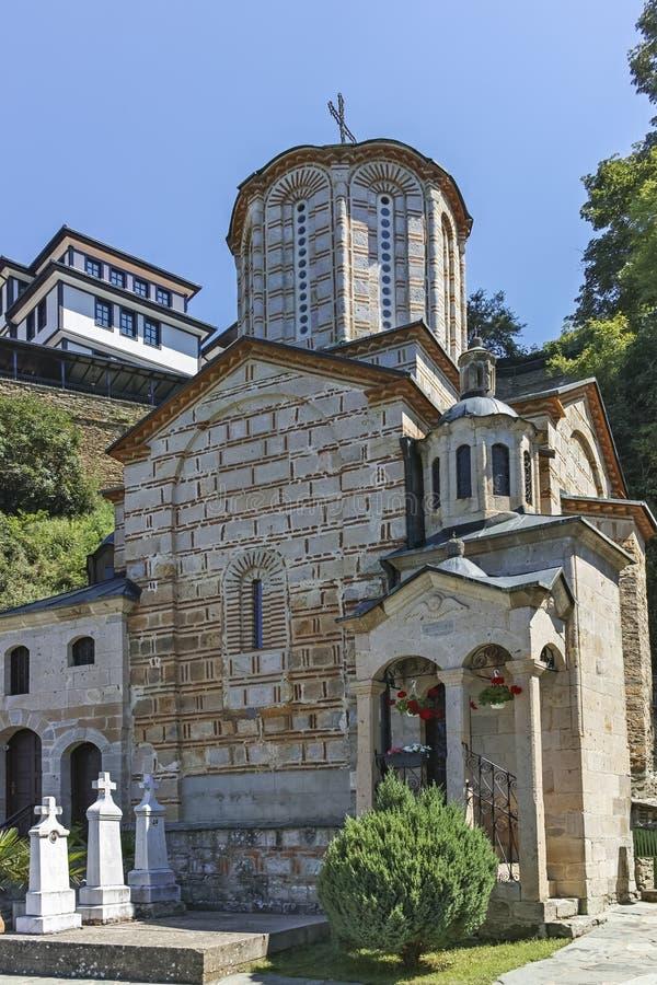 St Joachim di Osogovo, Repubblica del monastero della Macedonia del nord immagine stock