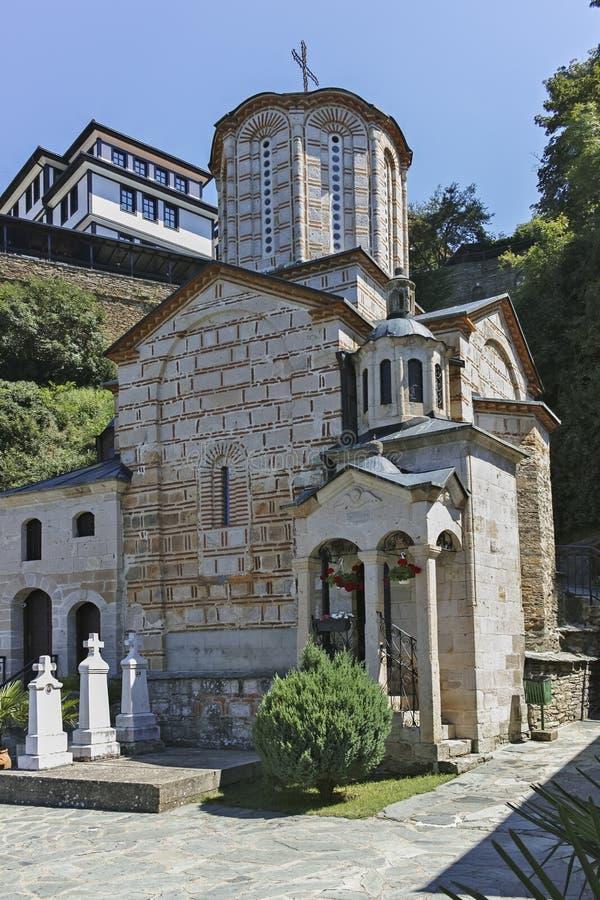 St Joachim di Osogovo, Repubblica del monastero della Macedonia del nord fotografie stock