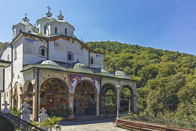 St Joachim di Osogovo, Repubblica del monastero della Macedonia del nord fotografia stock