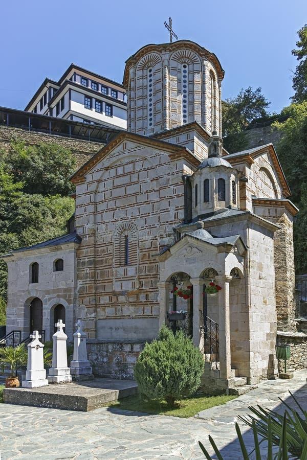 St Joachim di Osogovo, Repubblica del monastero della Macedonia del nord immagini stock libere da diritti
