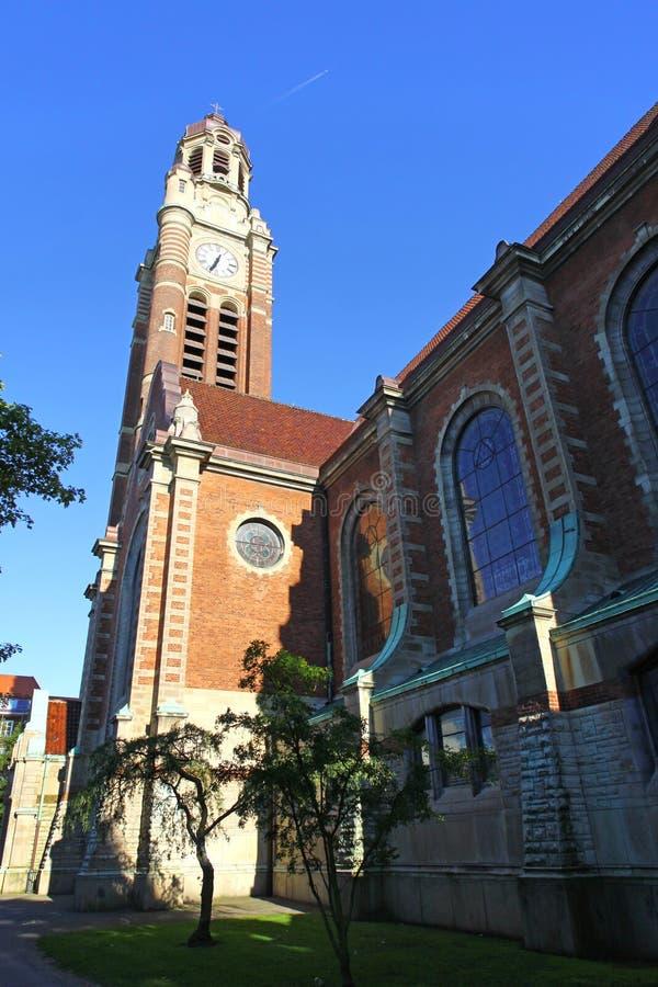 St Johannes Church en Malmö imagen de archivo