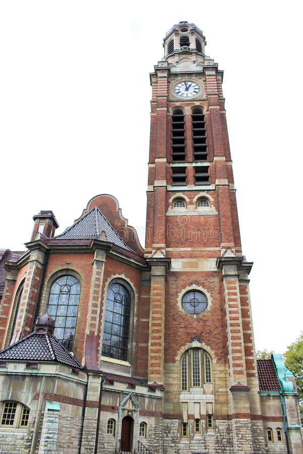 St Johannes Church i Malmo, Sverige royaltyfri foto