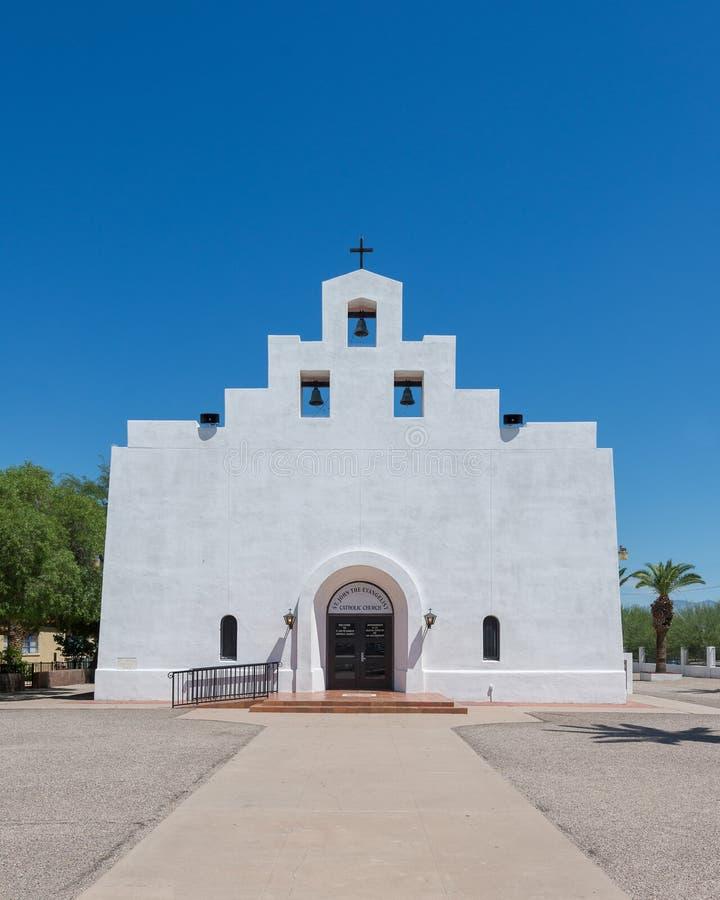 ST John η εκκλησία Ευαγγελιστών στοκ εικόνες με δικαίωμα ελεύθερης χρήσης