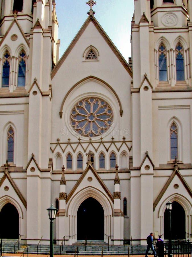 ST John ο βαπτιστικός καθεδρικός ναός στοκ φωτογραφία με δικαίωμα ελεύθερης χρήσης