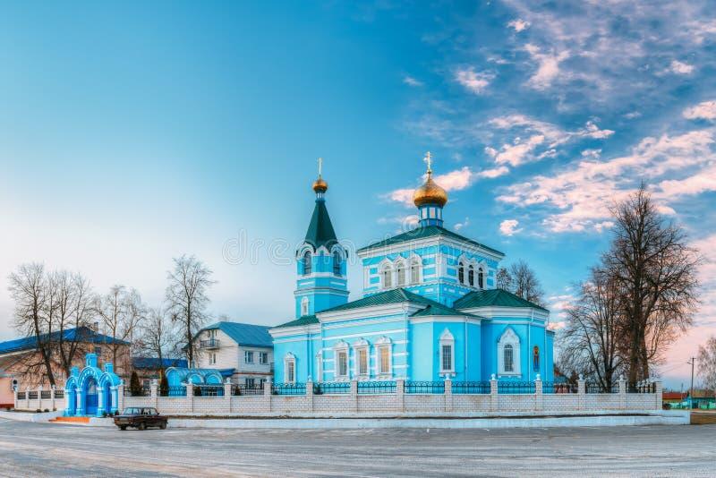 St. John монастырь Korma - церковь в Korma, Беларуси Известный или стоковое изображение rf