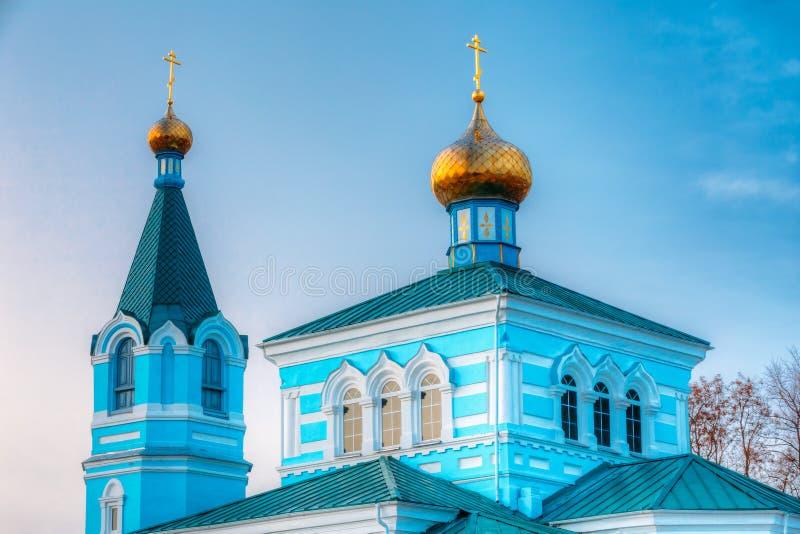St. John монастырь Korma - церковь в Korma, Беларуси Известный или стоковое фото rf