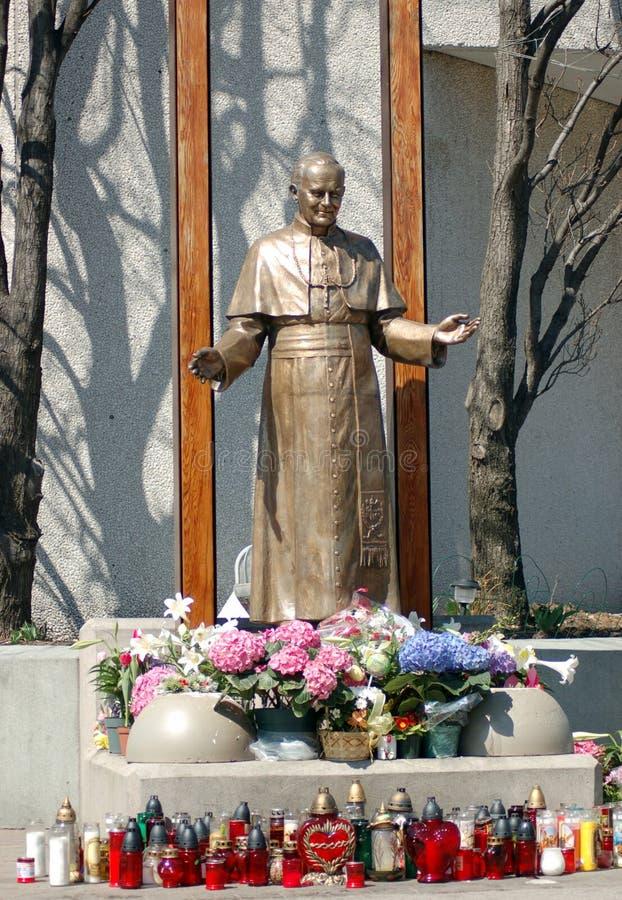 St. John Пол II стоковое изображение rf