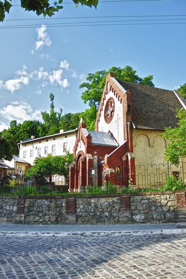St. John Baptist Church in Lviv stock photography
