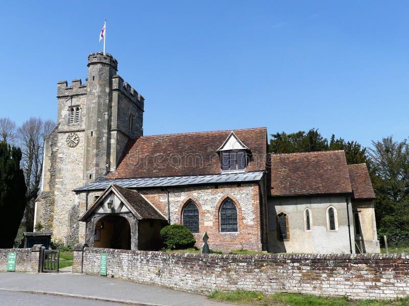 St John Baptist Church, poco Missenden, Buckinghamshire, Inglaterra, Reino Unido imágenes de archivo libres de regalías