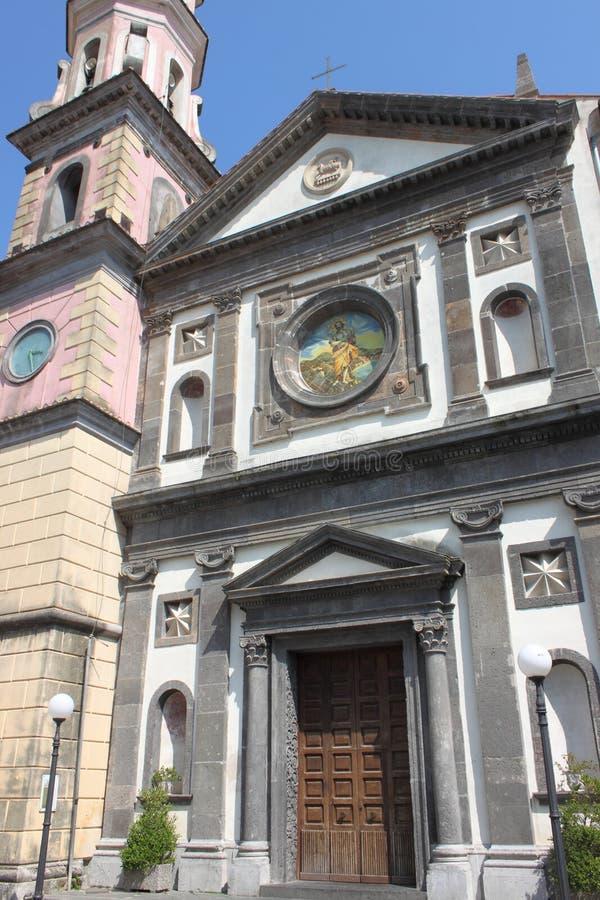 St. John the Baptist church of Vietri royalty free stock photography
