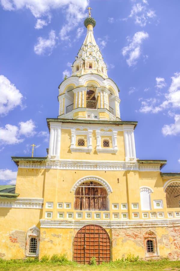 St John Baptist Uglich för Ryssland kyrkaKristi födelse fotografering för bildbyråer