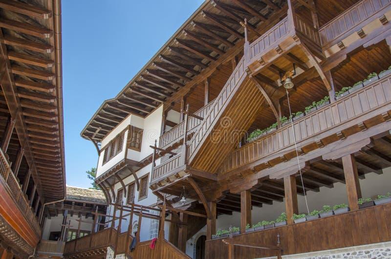 "St John Bigorski Monastery †""Mavrovo - Macedonië stock foto"
