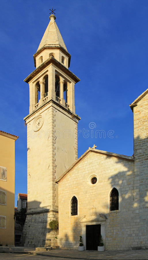 St. John Church Budva royalty free stock image