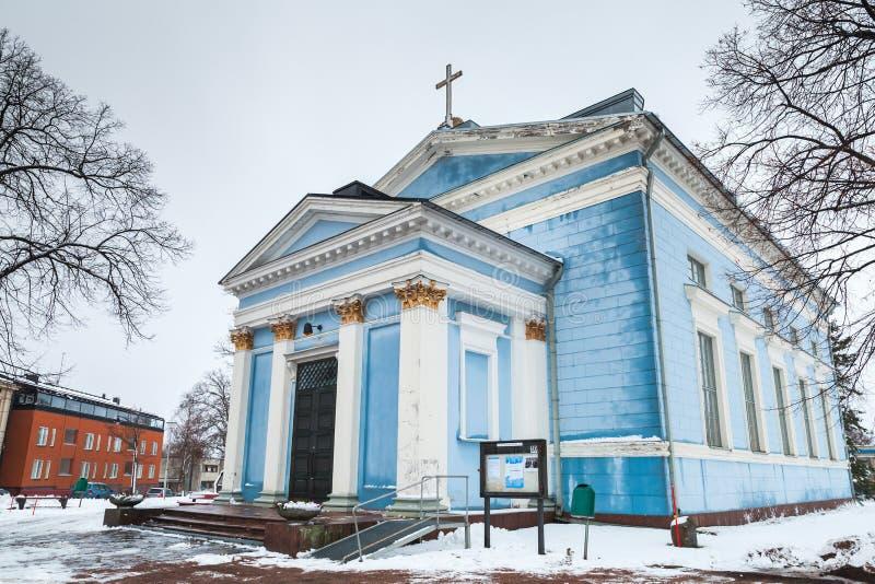 St John Church, Hamina, Finlandia imagem de stock