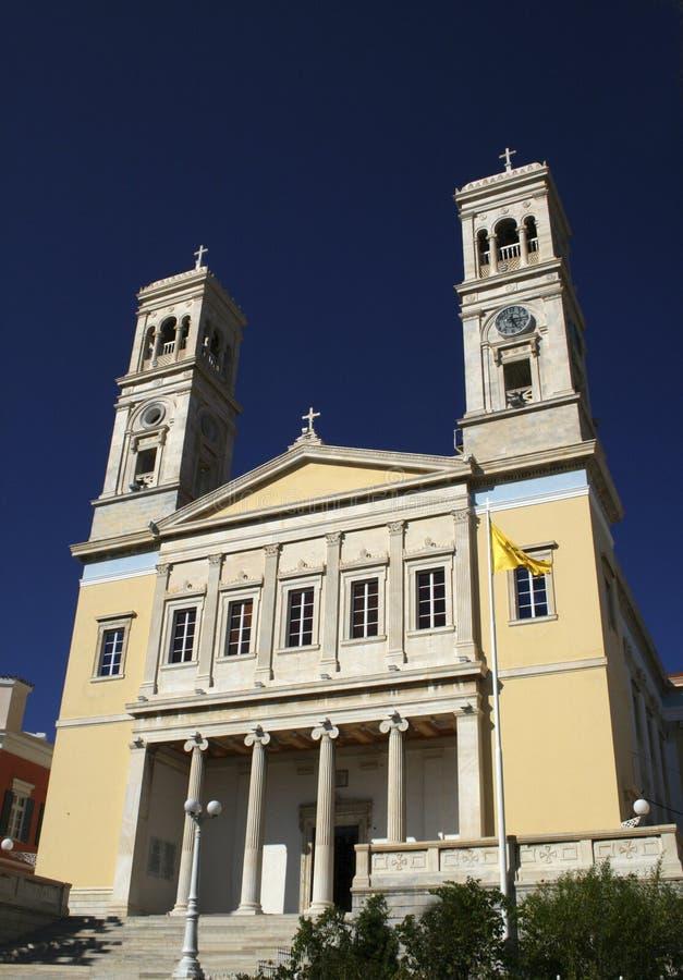 St.John church - Syros stock photo