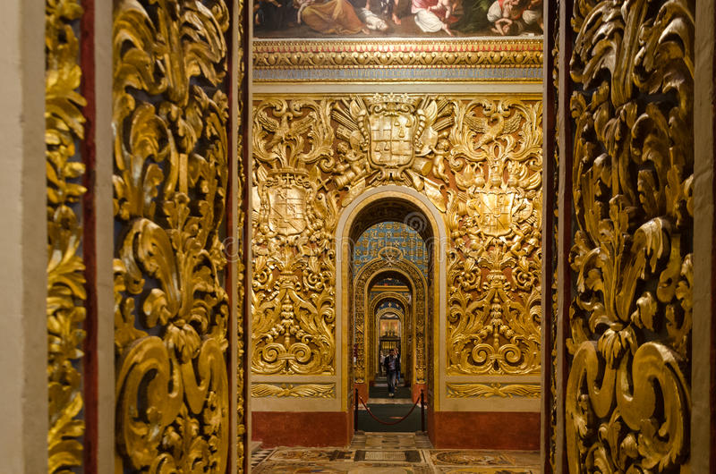 St John Co-Kathedraal in Valletta in Malta, royalty-vrije stock foto