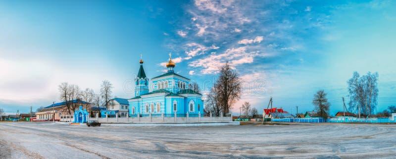 St John den Korma kloster - kyrktaga i Korma, Vitryssland Berömt eller royaltyfri fotografi