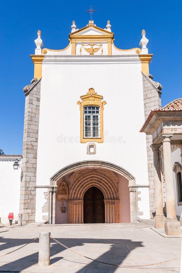 St. John the Evangelist Church in Evora stock photo