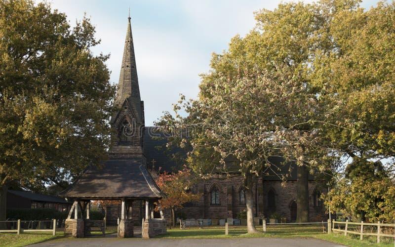 St John Kerk Toft stock fotografie