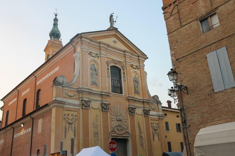 St John kościół baptystów w Spilamberto, obraz stock