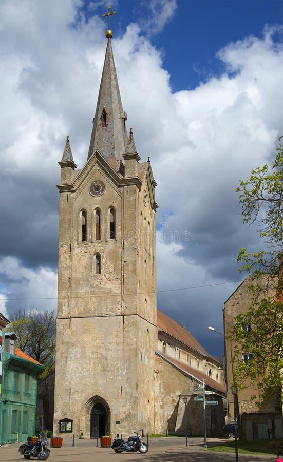 St John kościół w starym Wenden cesis Latvia zdjęcie stock