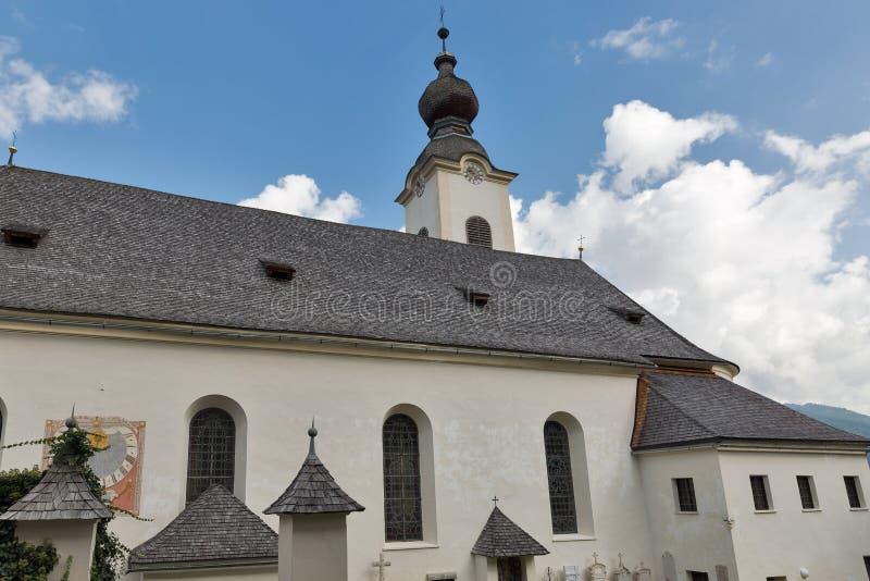 St John la chiesa battista in Haus, Austria immagine stock