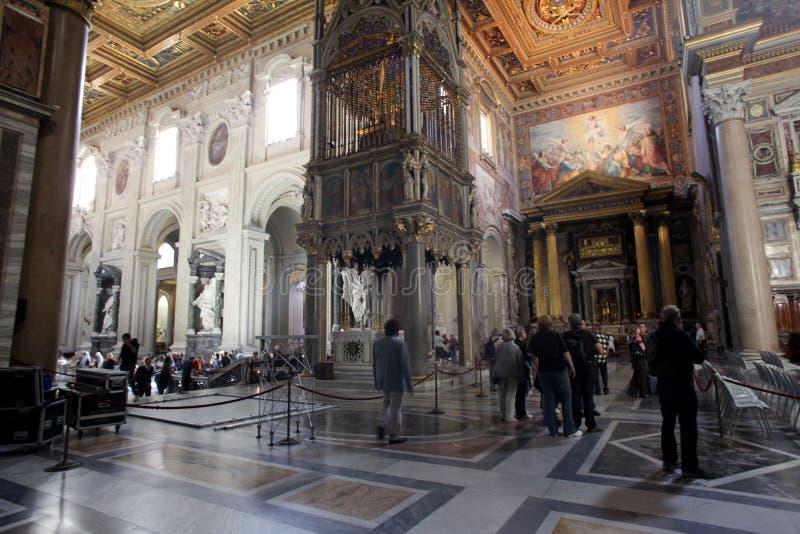 St. John Lateran em Roma foto de stock