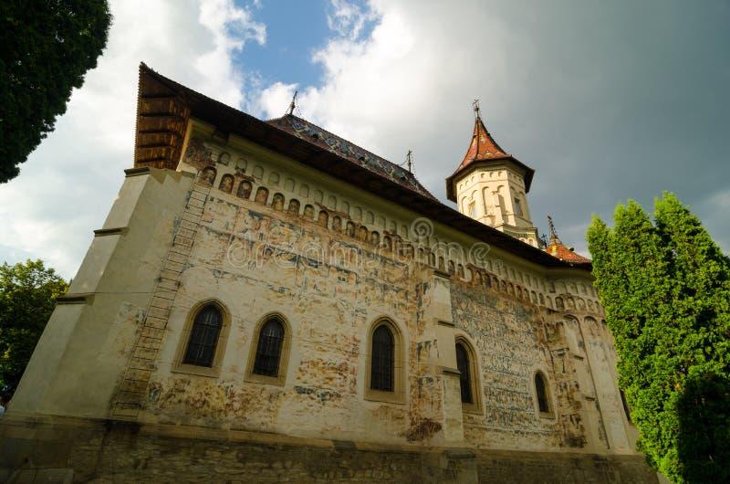 St John le nouveau monastère dans Suceava, Roumanie photo libre de droits