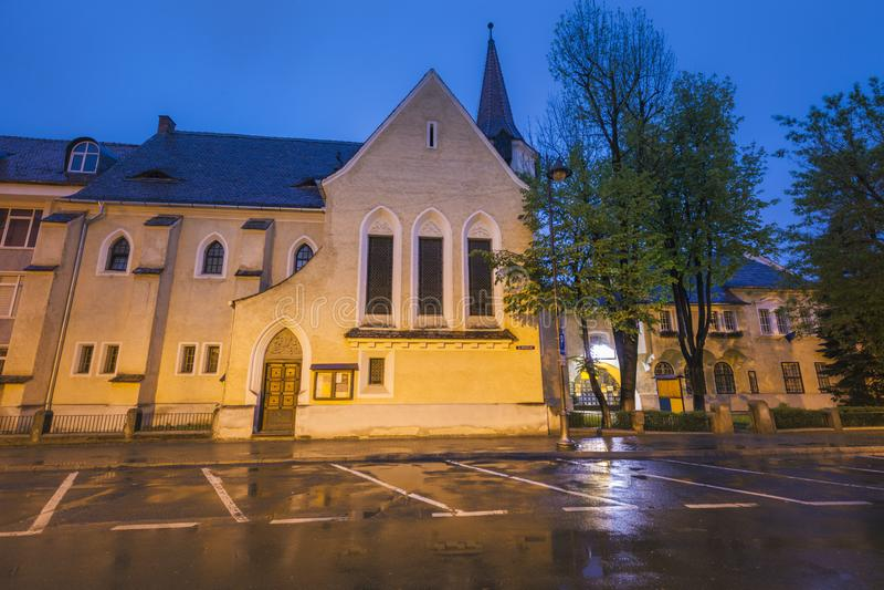 St John Lutheran Church à Sibiu photos stock