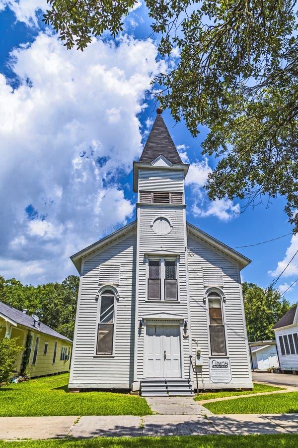 St John Lutheran Church dans Lake Charles image libre de droits