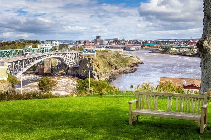 St John, Nuovo Brunswick fotografia stock libera da diritti