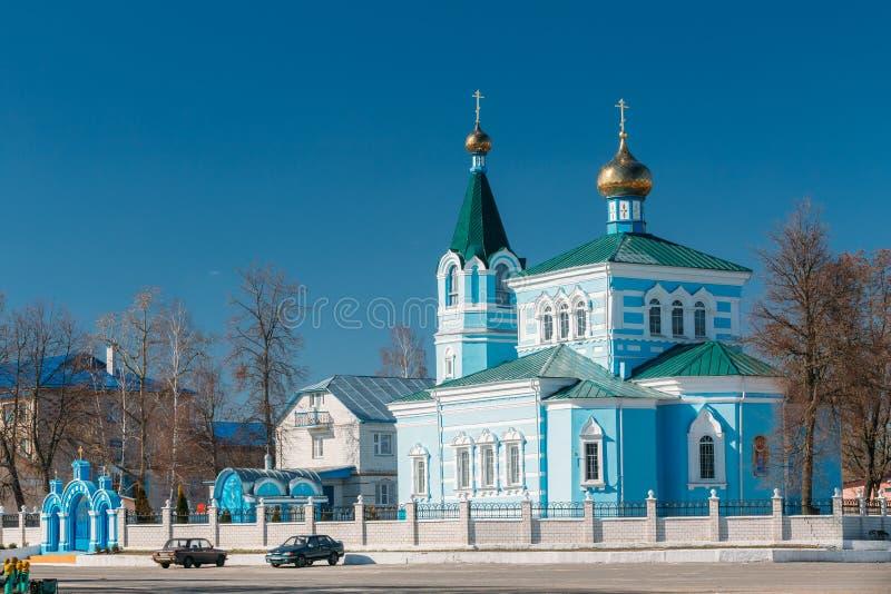 St John o convento de Korma - igreja em Korma, Bielorrússia Famoso ou fotos de stock royalty free