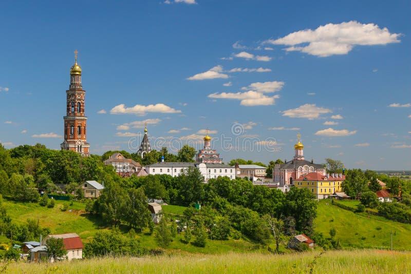 St John o teólogo Monastery na região de Ryazan da região de Poschupovo Rybnovskij foto de stock
