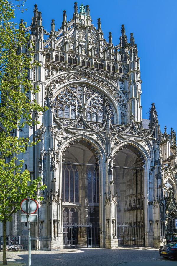 Free St. John`s Cathedral, S-Hertogenbosch, Netherlands Royalty Free Stock Photos - 199233188