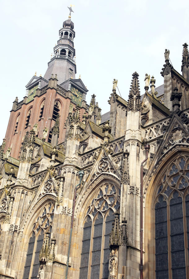 St. John's Cathedral at's-Hertogenbosch, Netherlands stock image