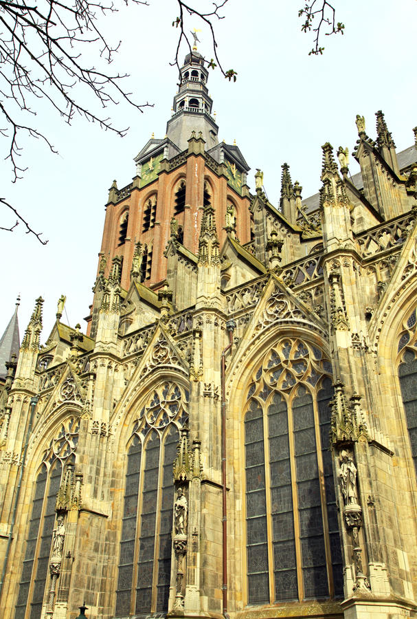 St. John's Cathedral at's-Hertogenbosch, Netherlands royalty free stock image